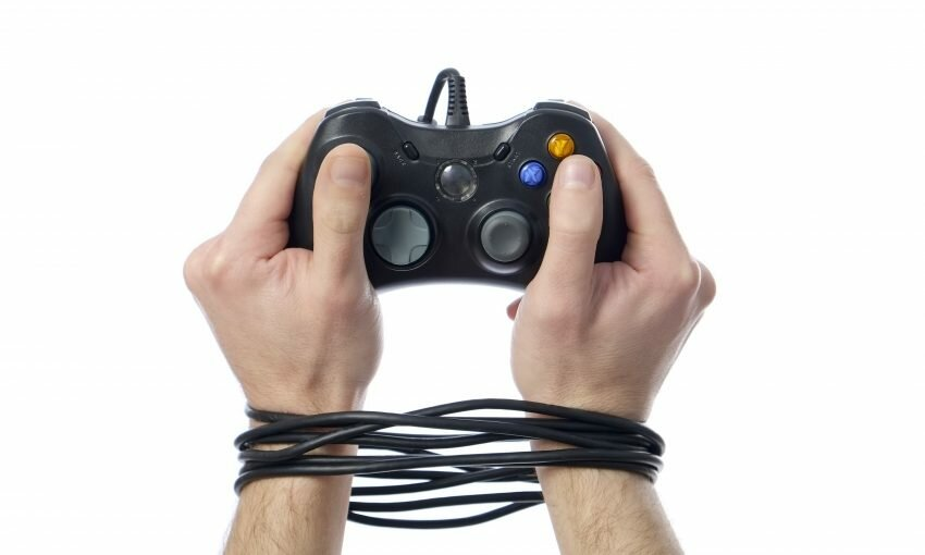 Cuffed to video controller
